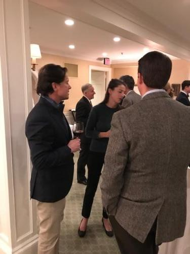 Capital campaign kickoff event in Boston - Nov. '18